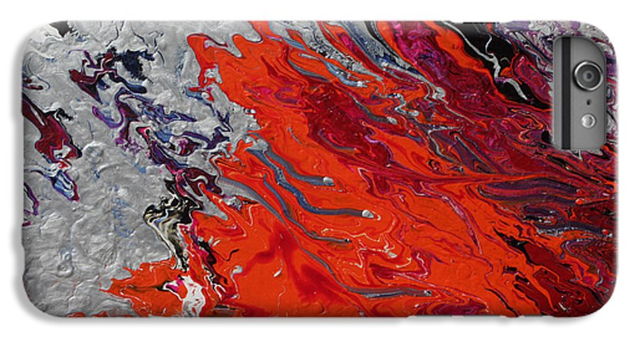 Fusionart IPhone 6 Plus Case featuring the painting Ignition by Ralph White
