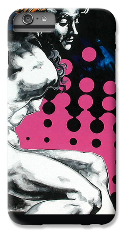 Pop IPhone 6 Plus Case featuring the painting Ignudo by Jean Pierre Rousselet