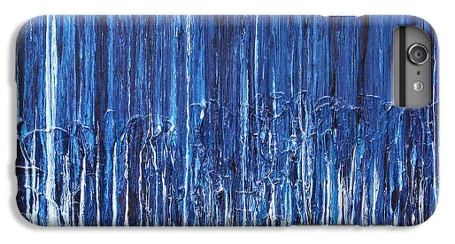 Fusionart IPhone 6 Plus Case featuring the painting Indigo Soul by Ralph White