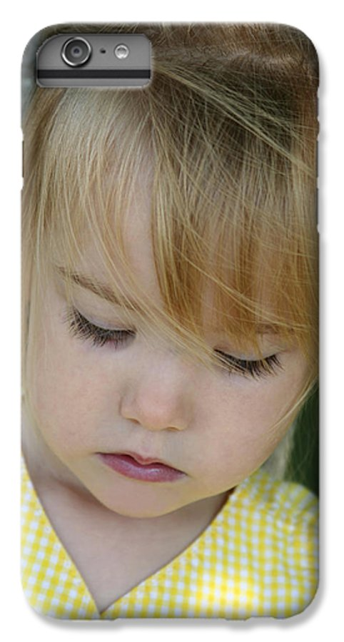 Angelic IPhone 6 Plus Case featuring the photograph Innocence II by Margie Wildblood
