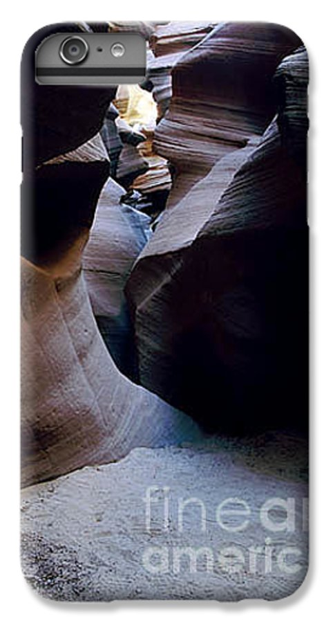 Slot Canyons IPhone 6 Plus Case featuring the photograph Into The Depths by Kathy McClure