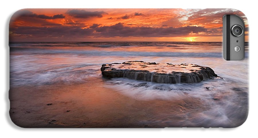 Island IPhone 6 Plus Case featuring the photograph Island In The Storm by Mike Dawson