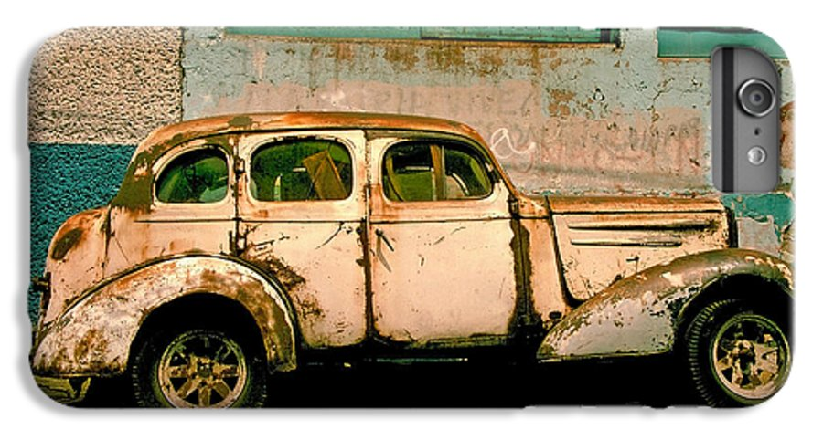 Skip IPhone 6 Plus Case featuring the photograph Jalopy by Skip Hunt