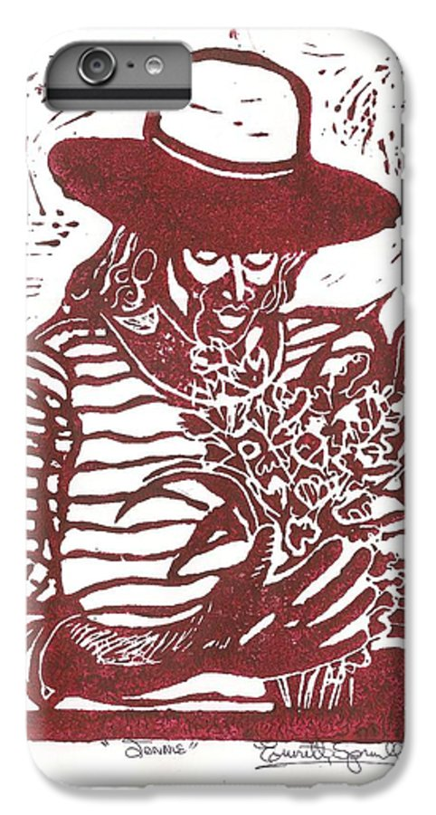 Jannie IPhone 6 Plus Case featuring the painting Jannie by Everett Spruill