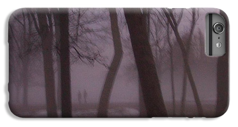 January IPhone 6 Plus Case featuring the photograph January Fog 1 by Anita Burgermeister
