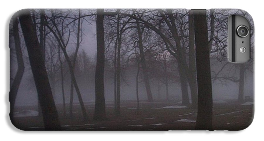 January IPhone 6 Plus Case featuring the photograph January Fog 2 by Anita Burgermeister