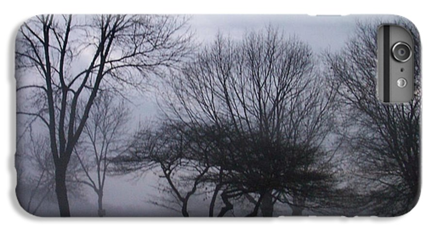 January IPhone 6 Plus Case featuring the photograph January Fog 6 by Anita Burgermeister