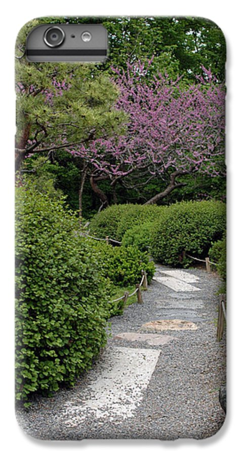 Japanese Garden IPhone 6 Plus Case featuring the photograph Japanese Garden I by Kathy Schumann