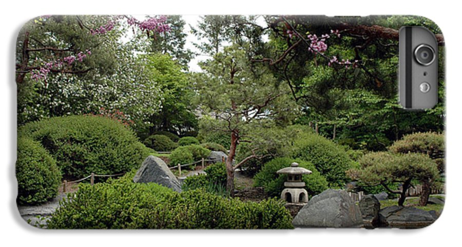 Japanese Garden IPhone 6 Plus Case featuring the photograph Japanese Garden IIi by Kathy Schumann