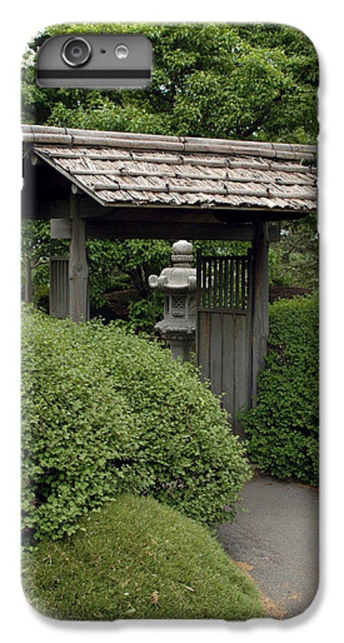 Japanese Garden IPhone 6 Plus Case featuring the photograph Japanese Garden by Kathy Schumann