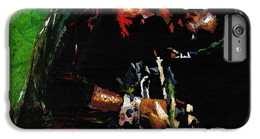 Jazz IPhone 6 Plus Case featuring the painting Jazz Miles Davis 1 by Yuriy Shevchuk