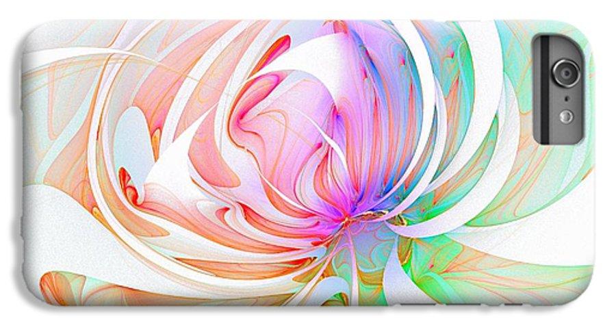 Digital Art IPhone 6 Plus Case featuring the digital art Joy by Amanda Moore