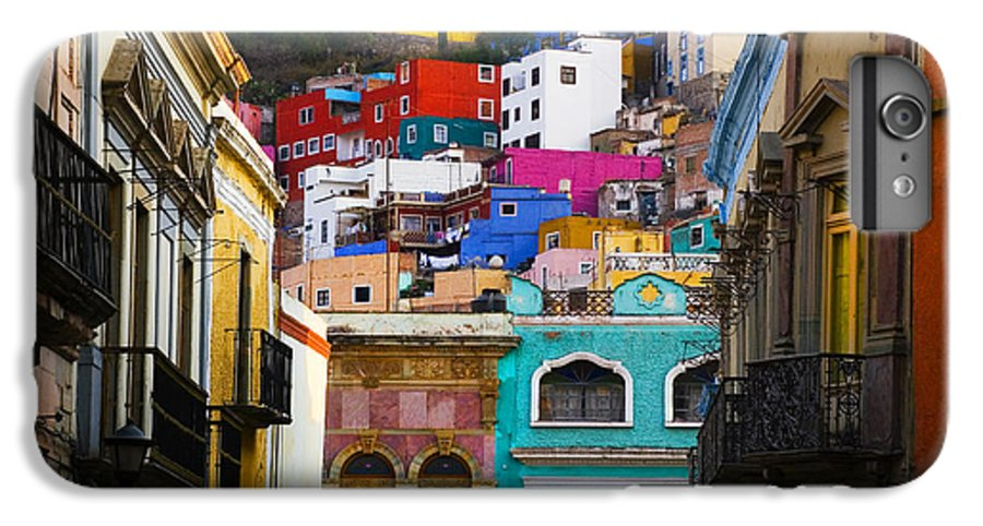 Architecture IPhone 6 Plus Case featuring the photograph Juegos In Guanajuato by Skip Hunt