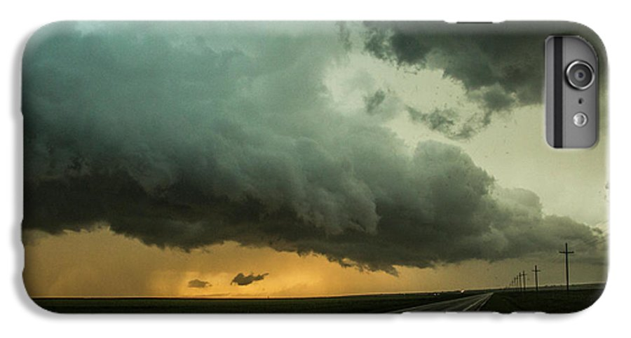 Nebraskasc IPhone 6 Plus Case featuring the photograph Kansas Storm Chase Bust Day 004 by NebraskaSC