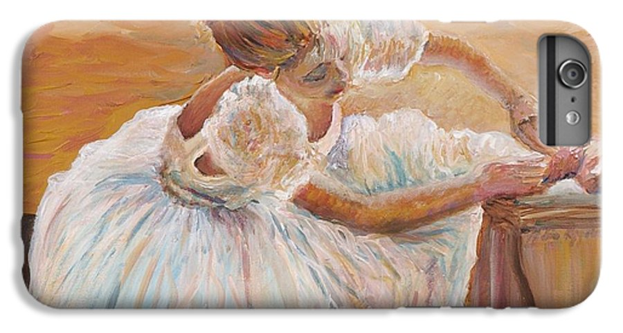 Dancer IPhone 6 Plus Case featuring the painting Kaylea by Nadine Rippelmeyer