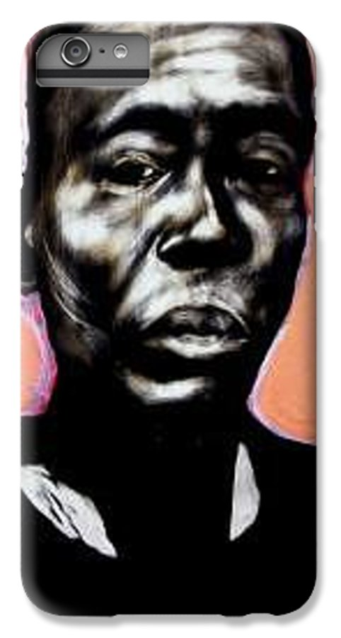 Portrait IPhone 6 Plus Case featuring the mixed media Kewam by Chester Elmore