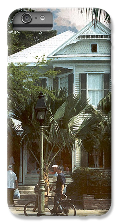 Historic IPhone 6 Plus Case featuring the photograph Keywest by Steve Karol