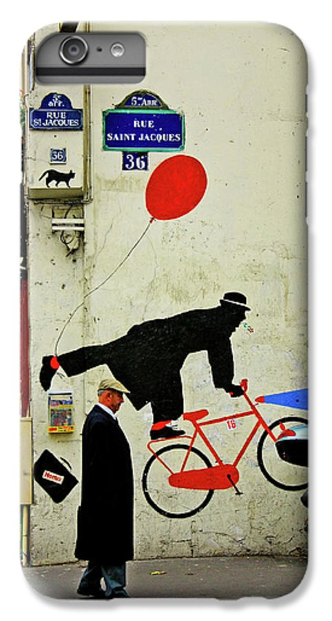 Paris IPhone 6 Plus Case featuring the photograph Kick In The Head by Skip Hunt