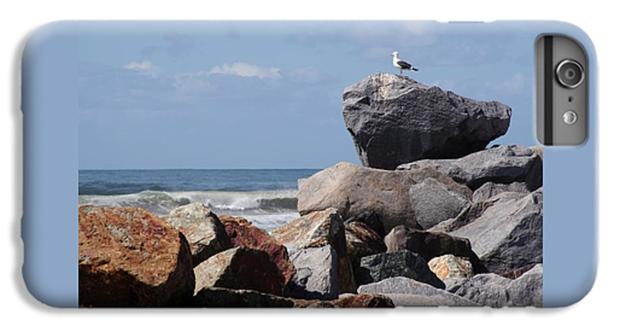 Beach IPhone 6 Plus Case featuring the photograph King Of The Rocks by Margie Wildblood