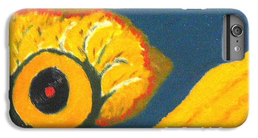 IPhone 6 Plus Case featuring the painting Krshna by R B