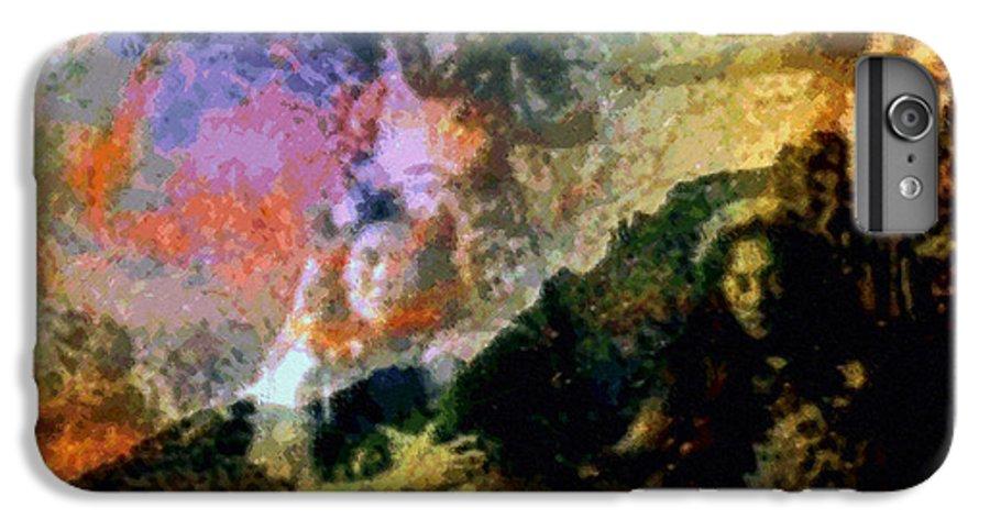 Rainbow Colors Digital IPhone 6 Plus Case featuring the photograph Kupua Hula by Kenneth Grzesik