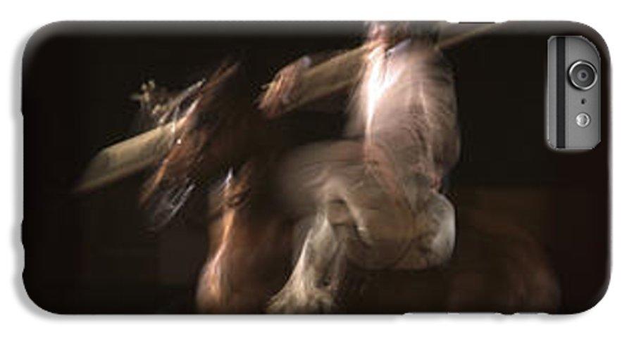 Horses IPhone 6 Plus Case featuring the photograph La Garrocha by Michael Mogensen
