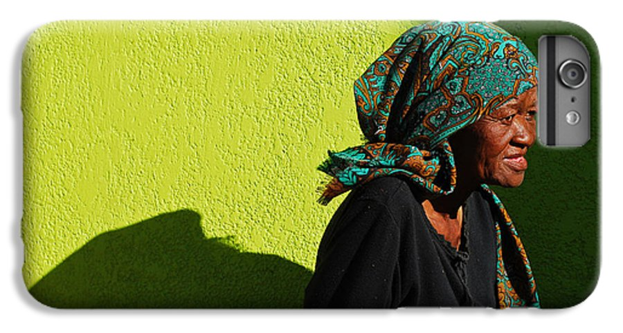 Africa IPhone 6 Plus Case featuring the photograph Lady In Green by Skip Hunt