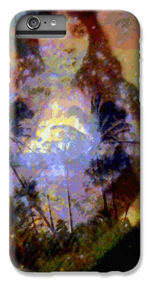 Rainbow Colors Digital IPhone 6 Plus Case featuring the photograph Laka Hula Akua by Kenneth Grzesik