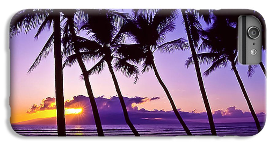 Landscapes IPhone 6 Plus Case featuring the photograph Lanai Sunset by Jim Cazel