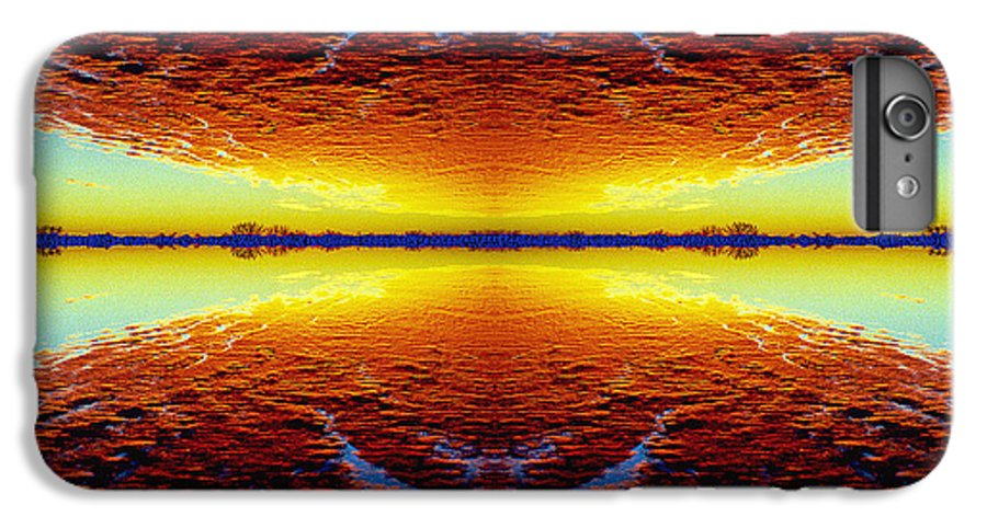 Sunset IPhone 6 Plus Case featuring the photograph Last Sunset by Nancy Mueller