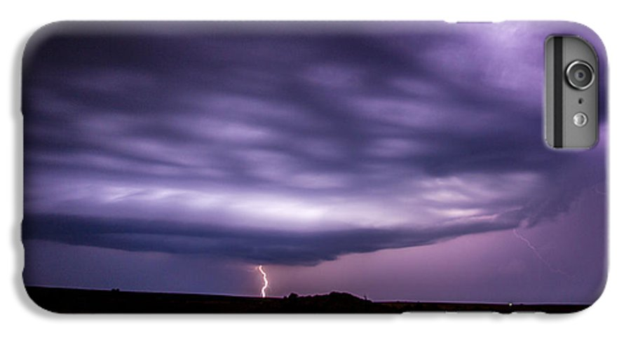 Nebraskasc IPhone 6 Plus Case featuring the photograph Late July Storm Chasing 033 by NebraskaSC