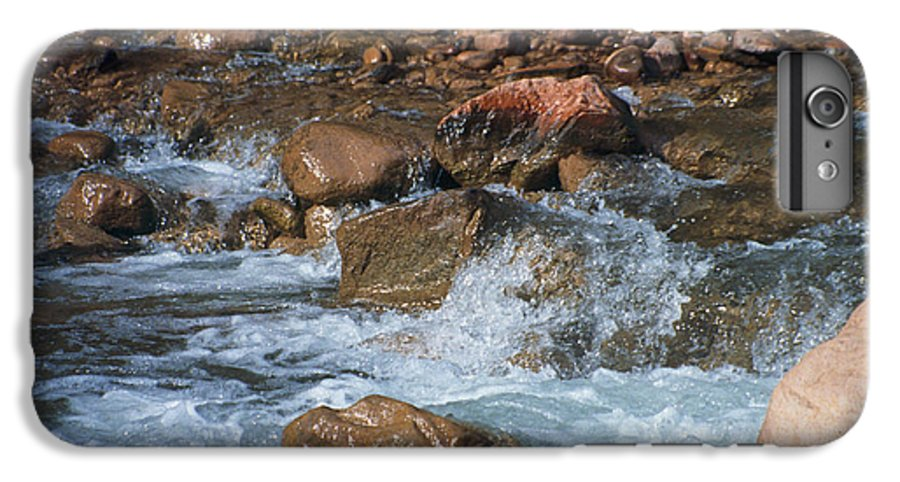 Creek IPhone 6 Plus Case featuring the photograph Laughing Water by Kathy McClure