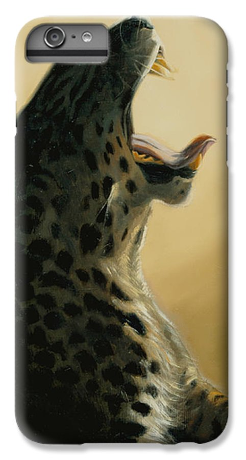 Painting IPhone 6 Plus Case featuring the painting Lazy Days by Greg Neal