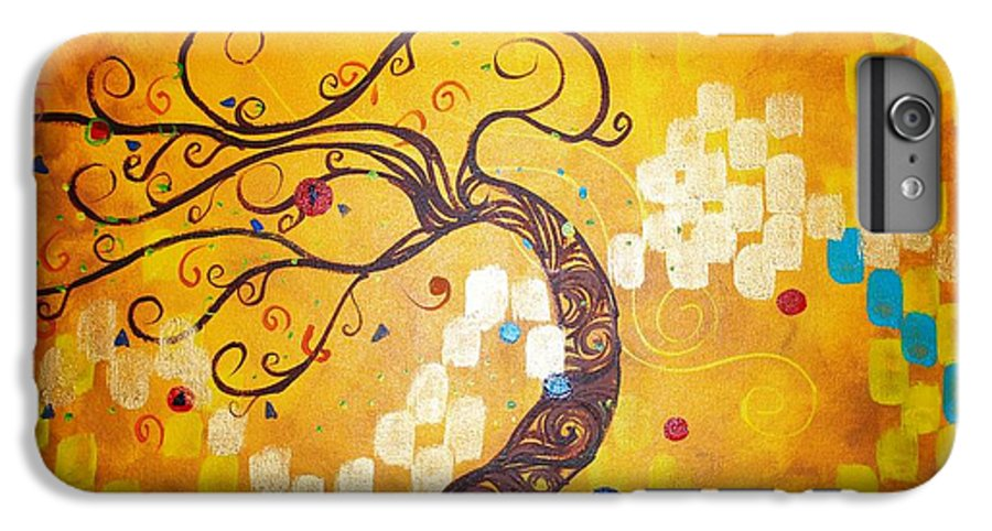 IPhone 6 Plus Case featuring the painting Life Is A Ball by Stefan Duncan