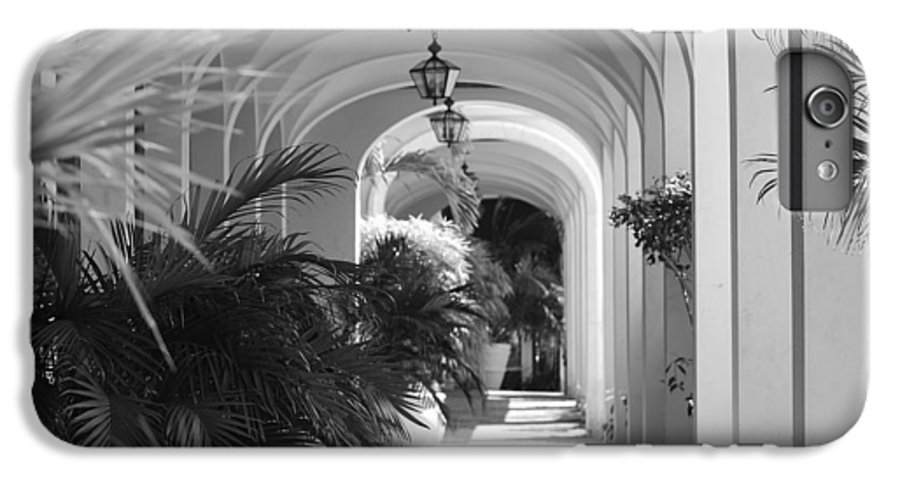 Architecture IPhone 6 Plus Case featuring the photograph Lighted Arches by Rob Hans