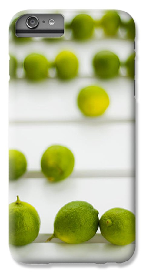 Green IPhone 6 Plus Case featuring the photograph Lime Green by Skip Hunt
