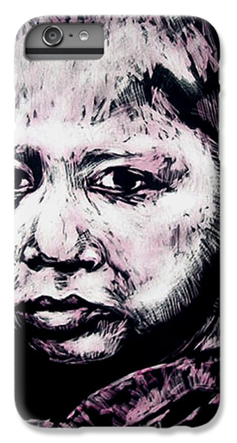 IPhone 6 Plus Case featuring the mixed media Little Rosita by Chester Elmore