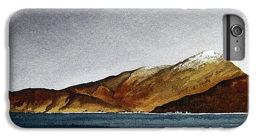 Seascape IPhone 6 Plus Case featuring the painting Looking Towards Arran From Skipness by Paul Dene Marlor