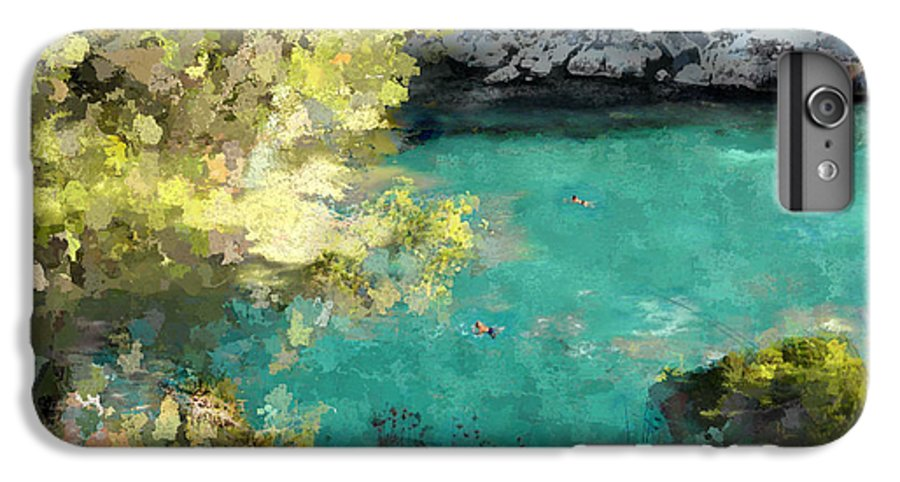 Sea IPhone 6 Plus Case featuring the photograph Macarella by Dee Flouton