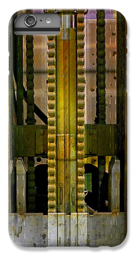 Texture IPhone 6 Plus Case featuring the photograph Machina by Skip Hunt