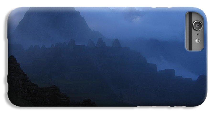 Landscape IPhone 6 Plus Case featuring the photograph Machu Picchu Dawn by Sam Oppenheim