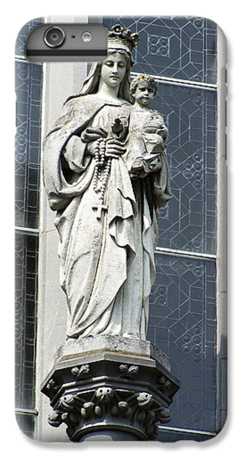 Ireland IPhone 6 Plus Case featuring the photograph Madonna And Child by Teresa Mucha
