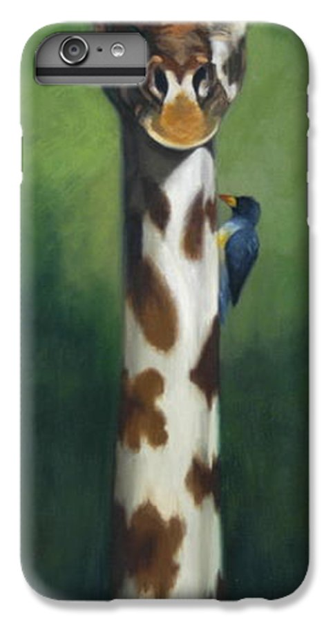 IPhone 6 Plus Case featuring the painting Maggie by Greg Neal