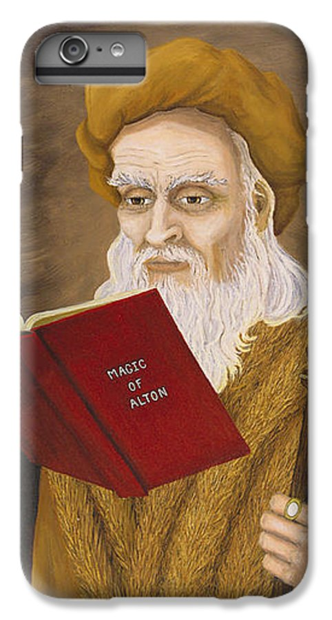 Magic IPhone 6 Plus Case featuring the painting Magic Of Alton by Roz Eve