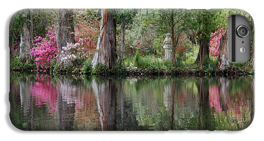 Magnolia Plantation IPhone 6 Plus Case featuring the photograph Magnolia Plantation Gardens Series Iv by Suzanne Gaff