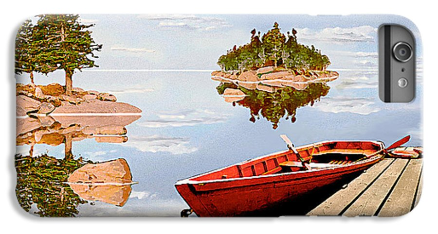 Maine IPhone 6 Plus Case featuring the photograph Maine-tage by Peter J Sucy