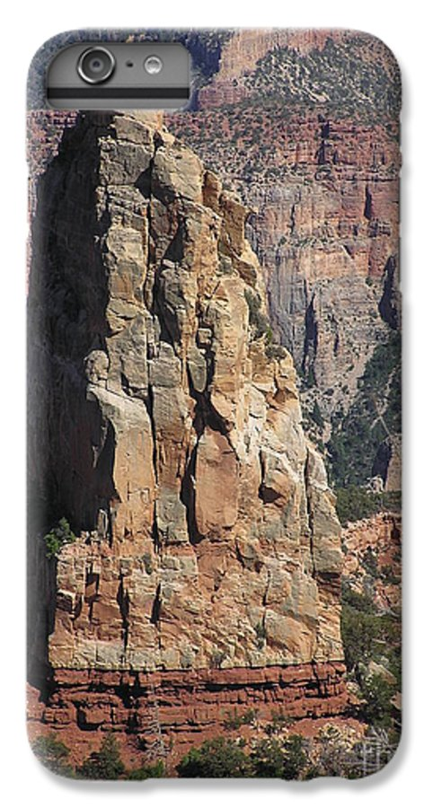 Rock IPhone 6 Plus Case featuring the photograph Majestic by Louise Magno