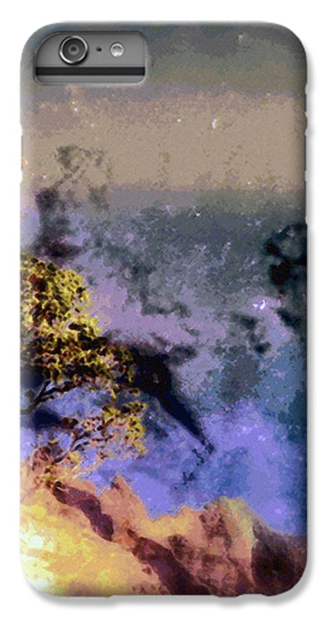 Rainbow Colors Digital IPhone 6 Plus Case featuring the photograph Manahuna by Kenneth Grzesik