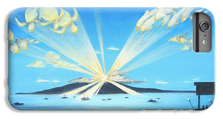 Maui IPhone 6 Plus Case featuring the painting Maui Magic by Jerome Stumphauzer