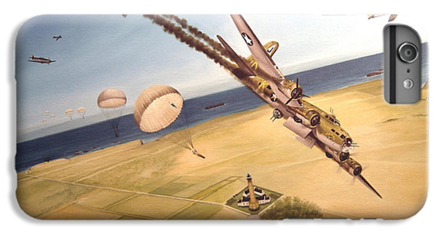 Aviation IPhone 6 Plus Case featuring the painting Mehitabel by Marc Stewart